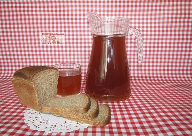 Домашний хлебный квас – пошаговый рецепт с фотографиями