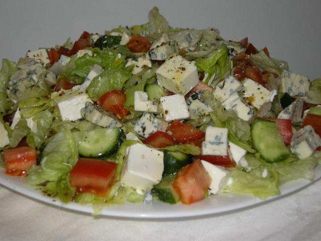 Греческий салат(мой вариант) – пошаговый рецепт с фотографиями