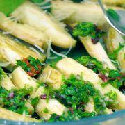 Закуска из маринованных баклажанов с сыром – пошаговый рецепт с фотографиями