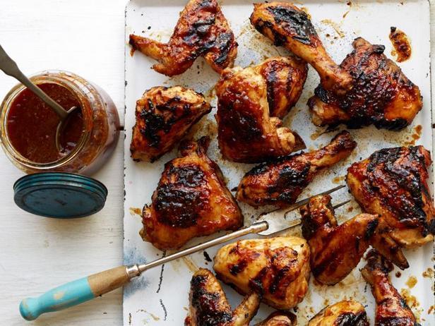Курица барбекю в пивном рассоле