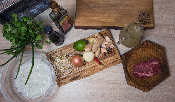 Куриный суп с рисовой лапшой – пошаговый рецепт с фотографиями