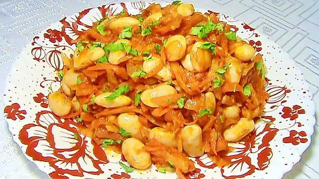 Фасоль с овощами в томатном соусе – пошаговый рецепт с фотографиями