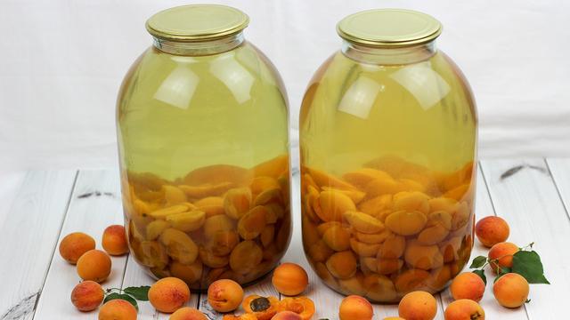 Компот из абрикосов на зиму без стерилизации банок – пошаговый рецепт с фотографиями