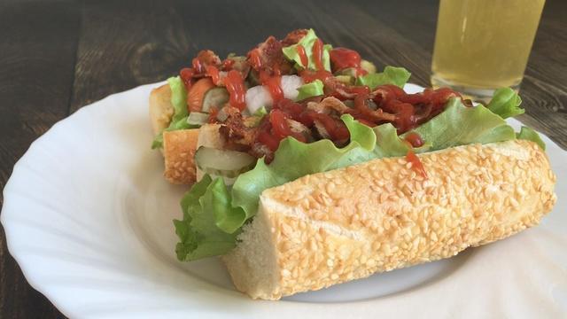 Рецепт домашнего хот дога – пошаговый рецепт с фотографиями