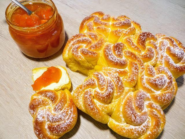 Абрикосовое тесто для булочек – пошаговый рецепт с фотографиями