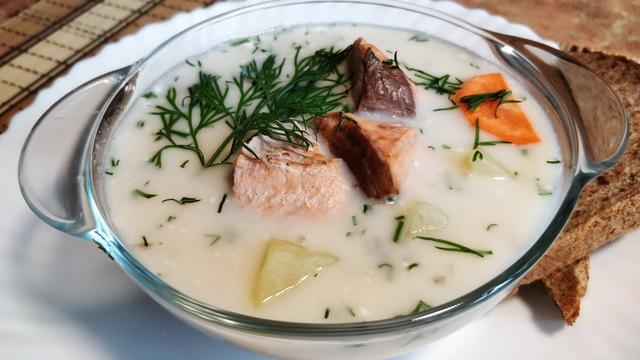Сливочный рыбный суп – пошаговый рецепт с фотографиями