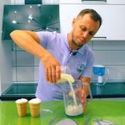 Молочный коктейль с добавлением черничного сиропа – пошаговый рецепт с фотографиями