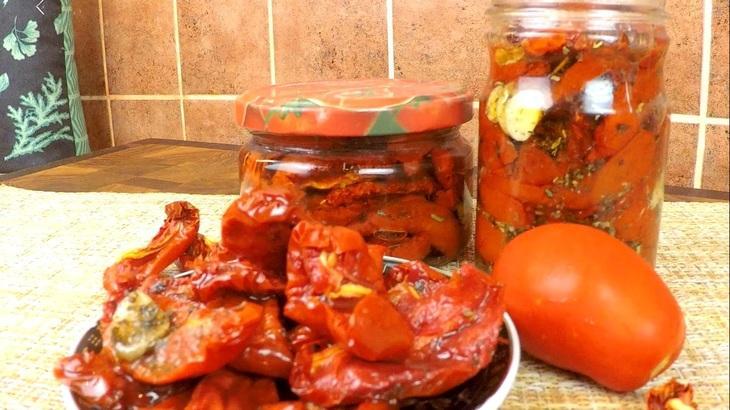 Вяленые томаты в масле – пошаговый рецепт с фотографиями