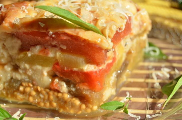 Кабачковая лазанья с печеными овощами. – пошаговый рецепт с фотографиями