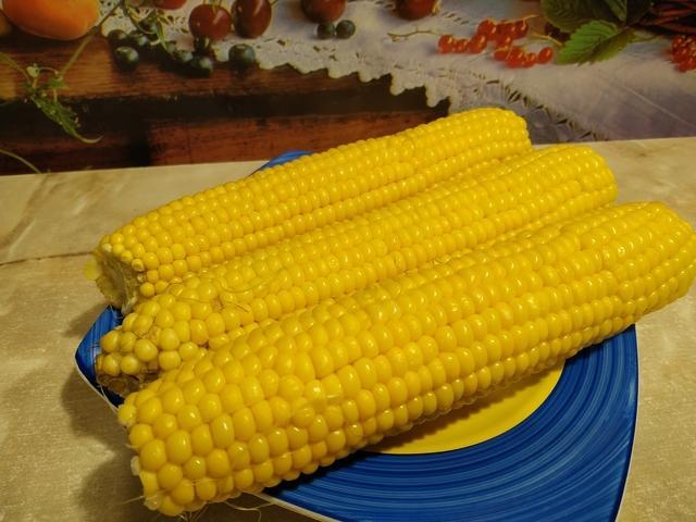 Вареная кукуруза – пошаговый рецепт с фотографиями