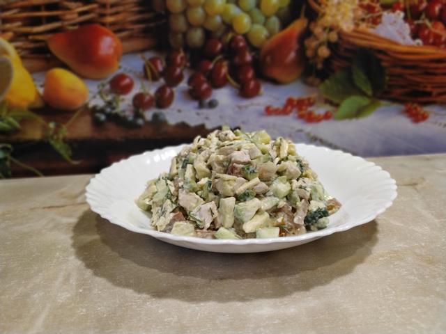 Салат из авокадо и куриной грудки – пошаговый рецепт с фотографиями