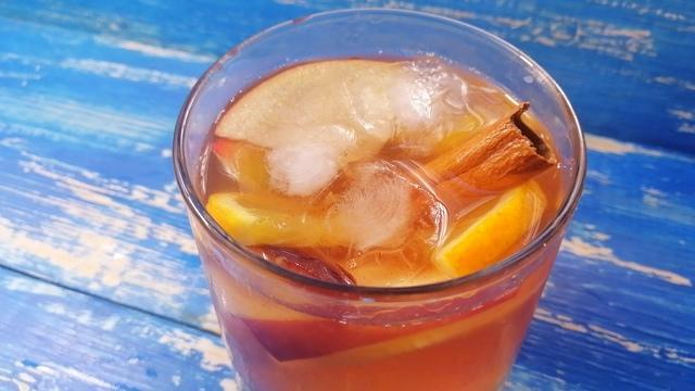 Безалкогольная сангрия – пошаговый рецепт с фотографиями