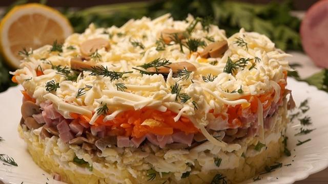 Салат вместо оливье – пошаговый рецепт с фотографиями