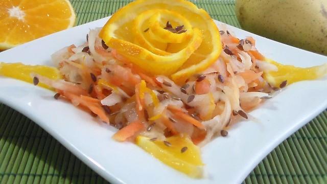 Салат из дайкона. простой рецепт для худеющих – пошаговый рецепт с фотографиями