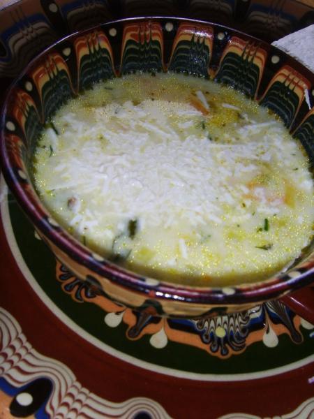 Постный суп из лука-порея с брынзой (празена чорба със сирене) – пошаговый рецепт с фотографиями