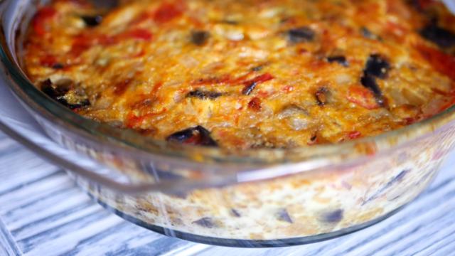 Завтрак из яиц и овощей – пошаговый рецепт с фотографиями