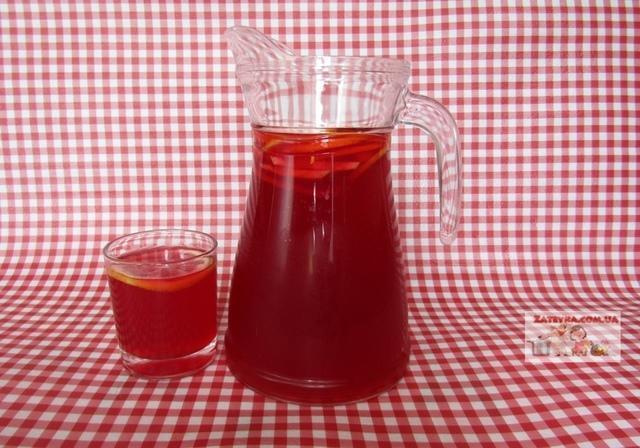 Вишневый лимонад – пошаговый рецепт с фотографиями
