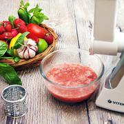 Гаспачо из томатов и клубники с граните из огурца, лимона и имбиря. – пошаговый рецепт с фотографиями
