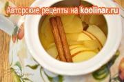 Имбирный чай с корицей, яблоком и мёдом (согревающий, полезный, вкусный) – пошаговый рецепт с фотографиями