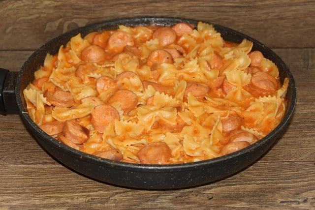 Блюдо с макаронами – пошаговый рецепт с фотографиями
