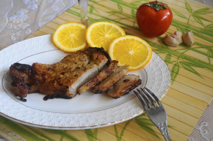 Свинина в апельсиновой глазури – пошаговый рецепт с фотографиями