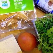 Салат с рукколой и копченым окорочком тест-драйв с окраиной – пошаговый рецепт с фотографиями