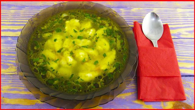 Суп с клецками на каждый день – пошаговый рецепт с фотографиями