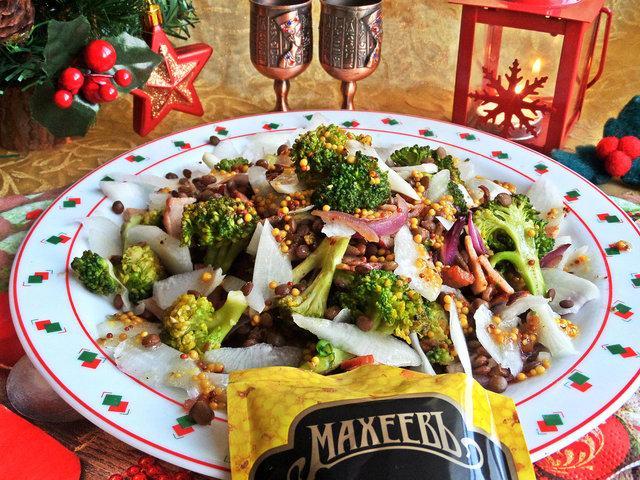 Салат с брокколи под горчичным соусом – пошаговый рецепт с фотографиями