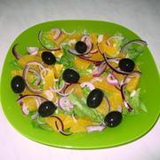 Греческий салат с апельсинами – пошаговый рецепт с фотографиями