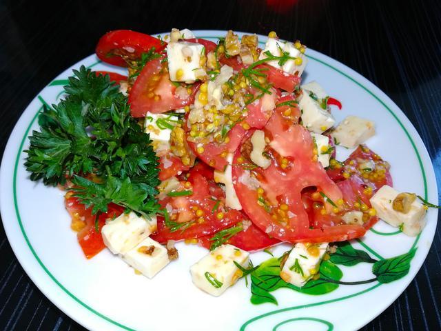 Салат с брынзой – пошаговый рецепт с фотографиями
