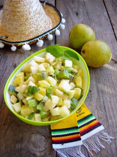 Тартар из фруктов фруктовый переполох – пошаговый рецепт с фотографиями