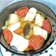 Уха на пару с томатами – пошаговый рецепт с фотографиями