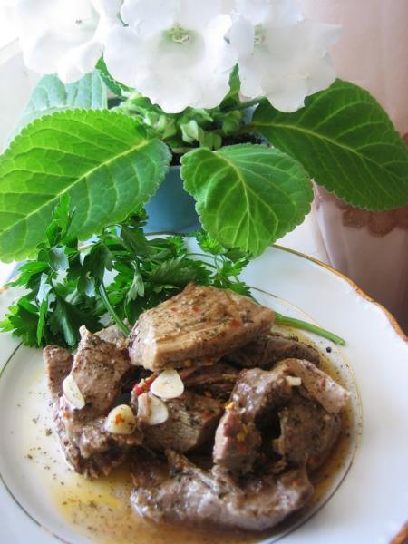 Мясо или язык маринованные – пошаговый рецепт с фотографиями