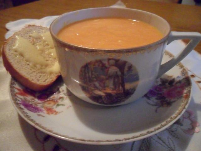 Тыквенный суп с имбирём... – пошаговый рецепт с фотографиями