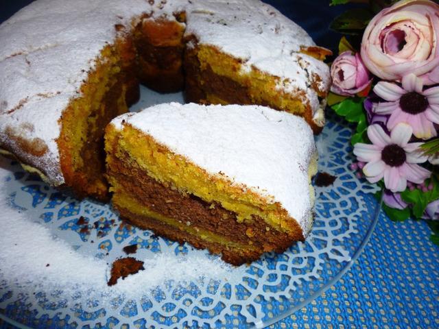 Шоколадно тыквенный кекс  – пошаговый рецепт с фотографиями