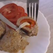 Котлета фаршированная перцем и сыром – пошаговый рецепт с фотографиями