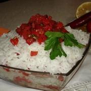 Рисовый салат с морепродуктами и печеным перцем  венецианский маскарад – пошаговый рецепт с фотографиями
