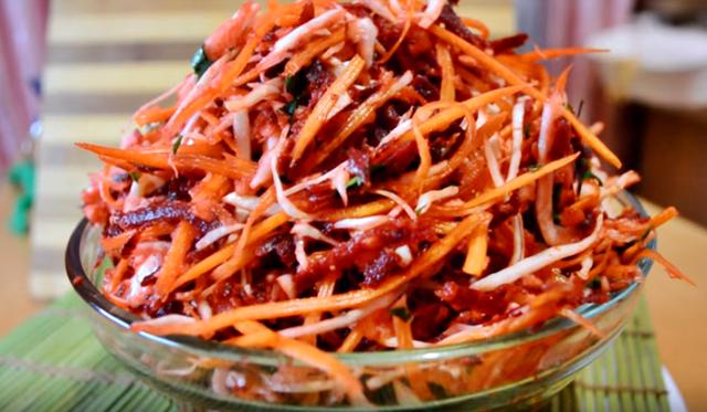 Салат «метелка» («щетка») для похудения – пошаговый рецепт с фотографиями