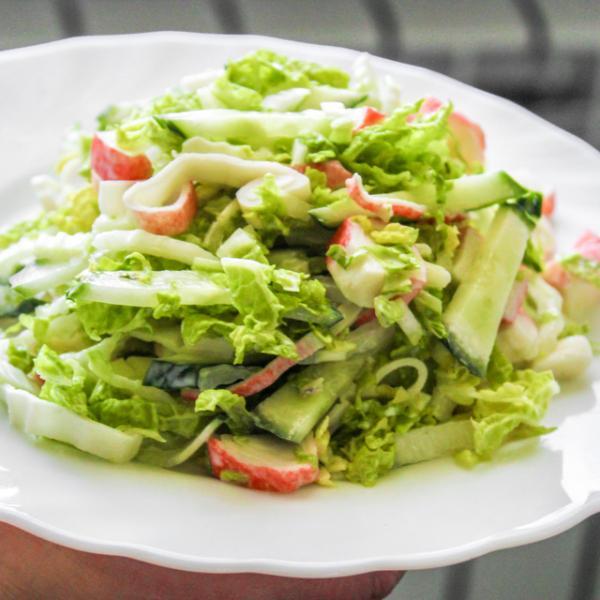 Салат с пекинской капустой – пошаговый рецепт с фотографиями