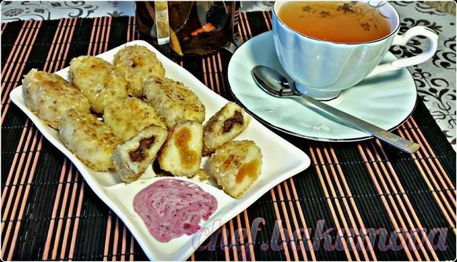 Сырники с начинкой в панировке. видео – пошаговый рецепт с фотографиями