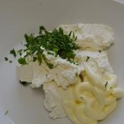 Салат из козьего сыра со свеклой в хлебных корзинках. – пошаговый рецепт с фотографиями
