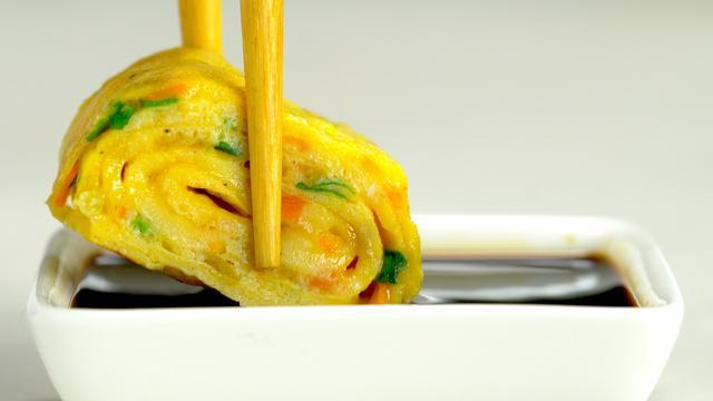 Японский омлет «тамаго-яки» – пошаговый рецепт с фотографиями