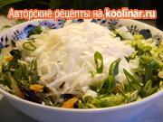 Капустный салат-микс со многими вкусными добавками – пошаговый рецепт с фотографиями