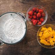 Протеиновый смузи с кедровой мукой – пошаговый рецепт с фотографиями