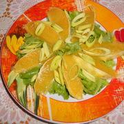 Салат с апельсинами – пошаговый рецепт с фотографиями