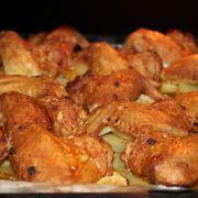 Хрустящие крылышки#россия – пошаговый рецепт с фотографиями