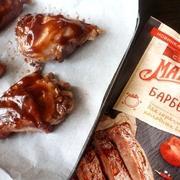 Куриные ножки запеченные с чесноком в соусе барбекю #махеевънаприроде – пошаговый рецепт с фотографиями