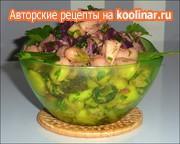 Салат с печёной свеклой, белой фасолью и ... – пошаговый рецепт с фотографиями