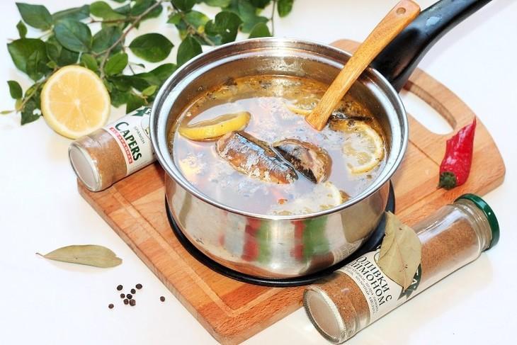 Рыбный суп с консервами#россия – пошаговый рецепт с фотографиями