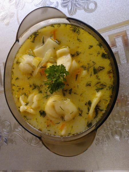 Суп с пельменями – пошаговый рецепт с фотографиями